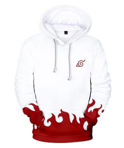2019 Anime Naruto Yondaime Hokage 3D Hoodie Collection