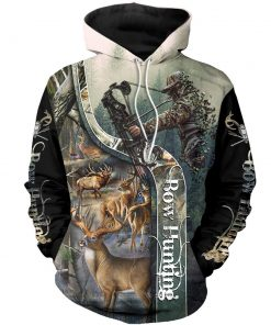 2020 Deer Herd Bow Hunter 3D Hoodie