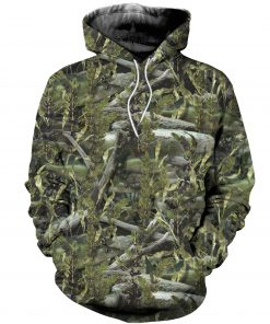2020 Woodland Forest Camouflage 3D Hoodie
