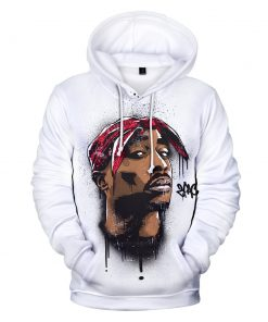 2019 Gangsta Rap 2Pac Hoodie Collection