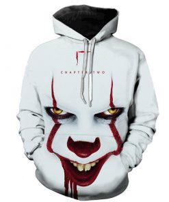 2020 Horror Movie IT Chapter Two 3D Hoodie