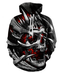 2019 Death Skull Hoodie Collection