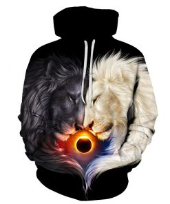 2020 Lion Designer 3D Hoodies