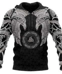 2020 Viking Tribal Tattoo Hoodie