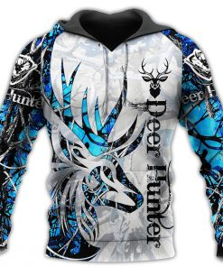 2020 Ice Cool Deer Hunter 3D Camo Hoodie