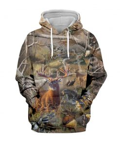 2020 Forest Hunter Camouflage 3D Hoodie