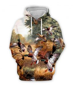 2020 Duck Hunter Camouflage 3d Hoodie