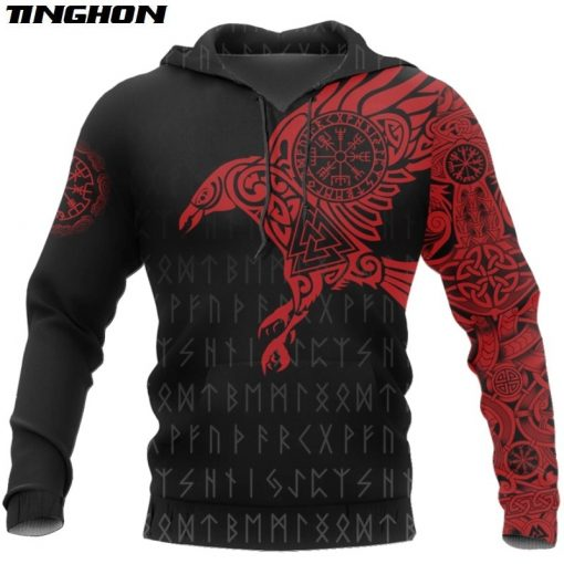2020 Viking The Raven of Odin Hoodie