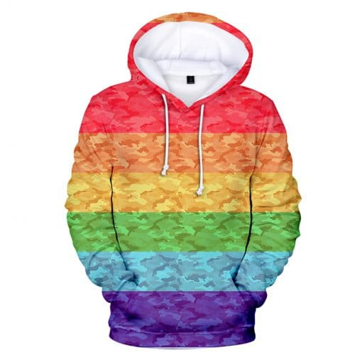 2020 Kids and Adult Rainbow Hoodie Collection