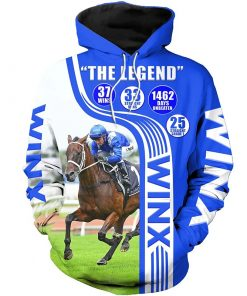 2020 Horse Champion Medal 3D Hoodie